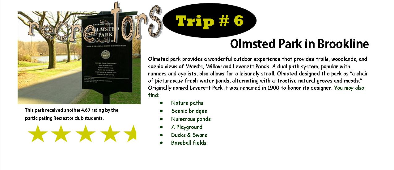 Olmsted rating